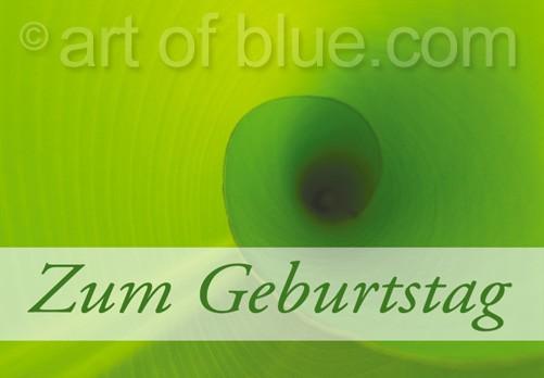 """Grusskarte """"Zum Geburtstag"""" Bananarama p408"""