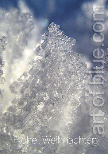 Weihnachtskarte Kristallbaum p186