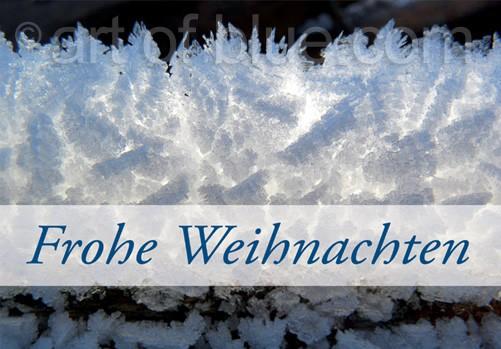 Weihnachtskarte Winterpanorama p431