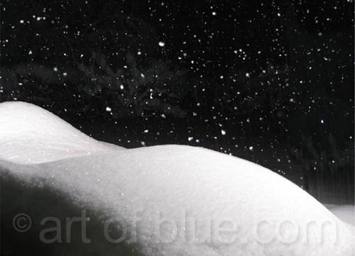 Postkarte Sternennacht c315