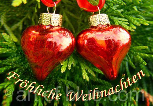 Liebeskarte Weihnachten P241