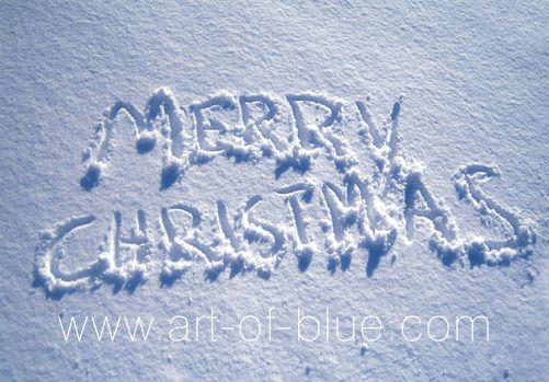 Große Grußkarte Merry Christmas p808