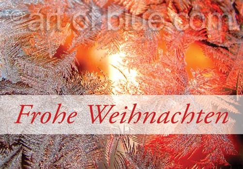 Weihnachtskarte Lichterglanz p430